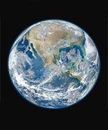 Planet Earth satellite image