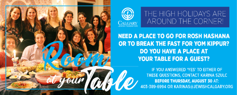 room at your table