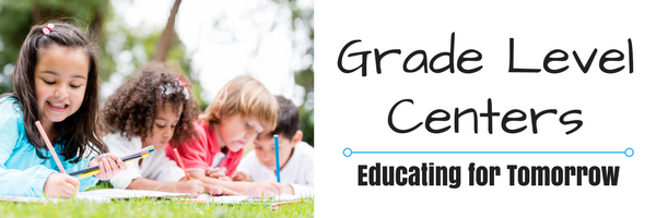 banner link to grade level centers information web page