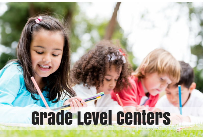 link to grade level centers page