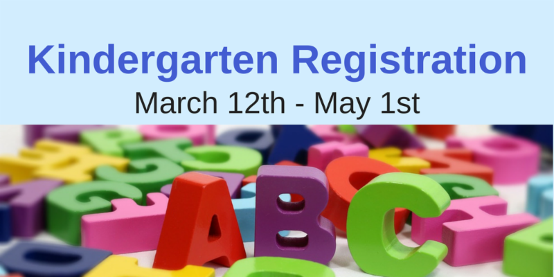 link to Kindergarten Registration web page