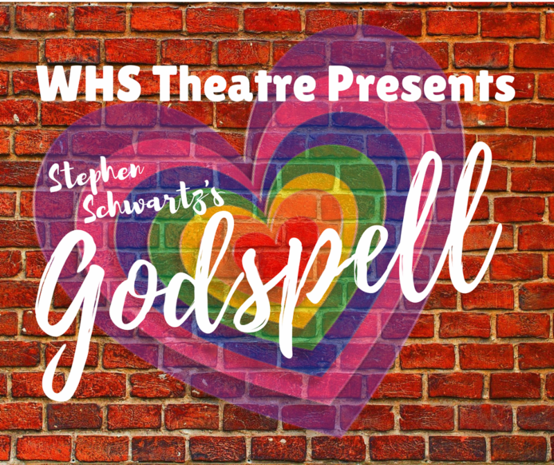 image is whs theater presents godspell