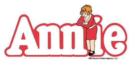 annie logo linked to WHS Theatre page