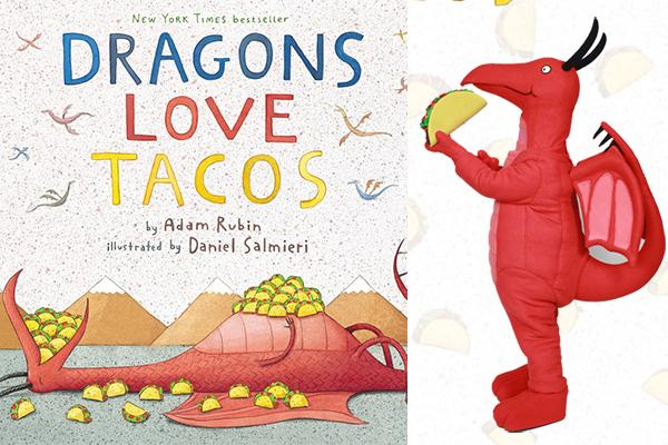 Dragons Love Tacos event