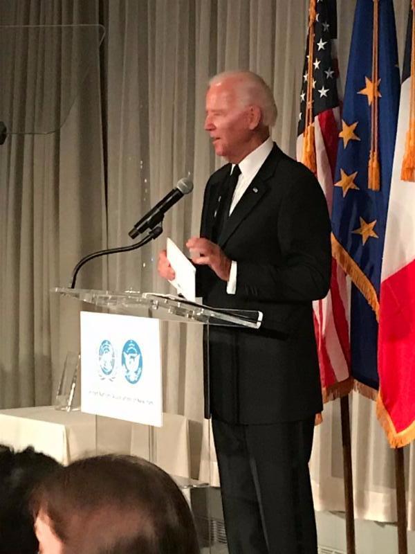 Biden UN award 2017