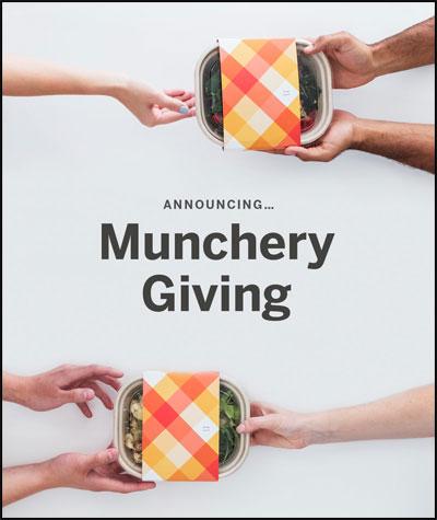 Munchery Giving Poster