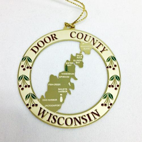 Chemart has designed a map of Door County ornament. This map is metal and marks many of the small towns in Door County. This is a perfect gift for those who ...  sc 1 st  Constant Contact & Happy October from Tannenbaum Holiday Shop!