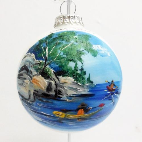 Some of our favorite Door County souvenirs are Log Cabin Creationu0027s hand painted ornaments featuring different Door County sites. & Tannenbaum Holiday Shopu0027s June Newsletter