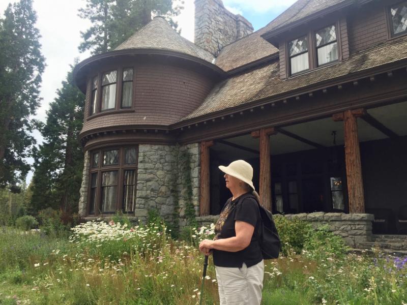 Pam at Lake Tahoe