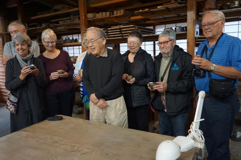 Sandra Pottery Trip in Japan