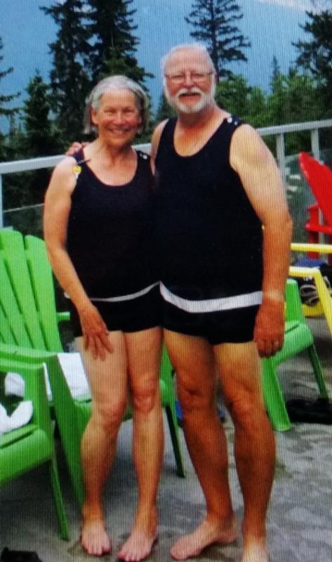 Karen and Dave - Banff Hot Springs