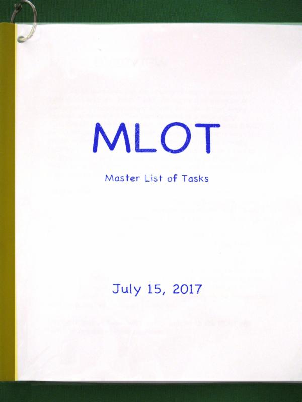 MLOT cover page