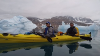 Jacque Kayak in Greenland