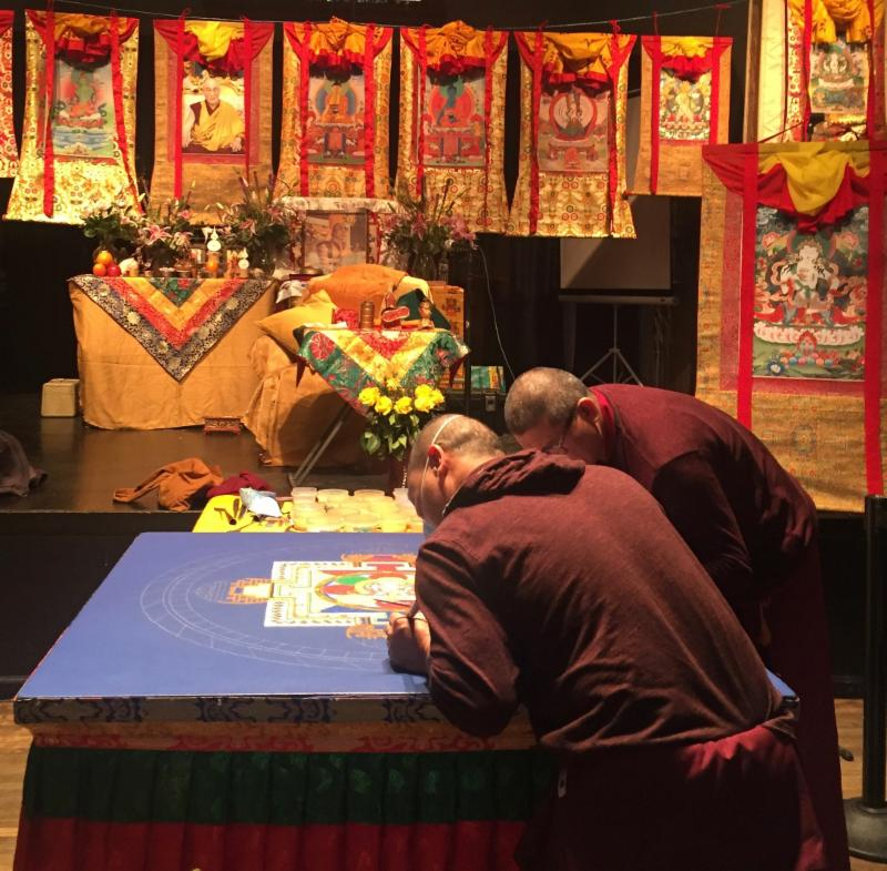 Tibetan Monks in Grass Valley