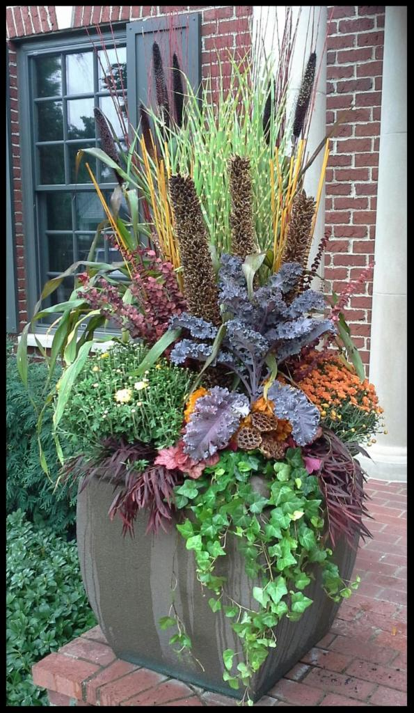 Heidi's Fall Containers