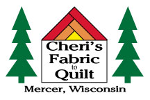 Cheri's Fabric To Quilt