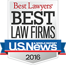 Best Law Firms Badge 2016