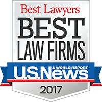 Best Law Firms 2017 Badge - 200