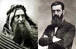 Hechler et Herzl