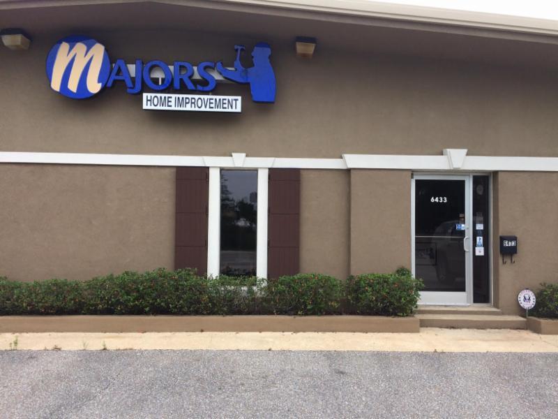 Majors Home Improvement building