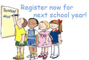 Register now for next school year_