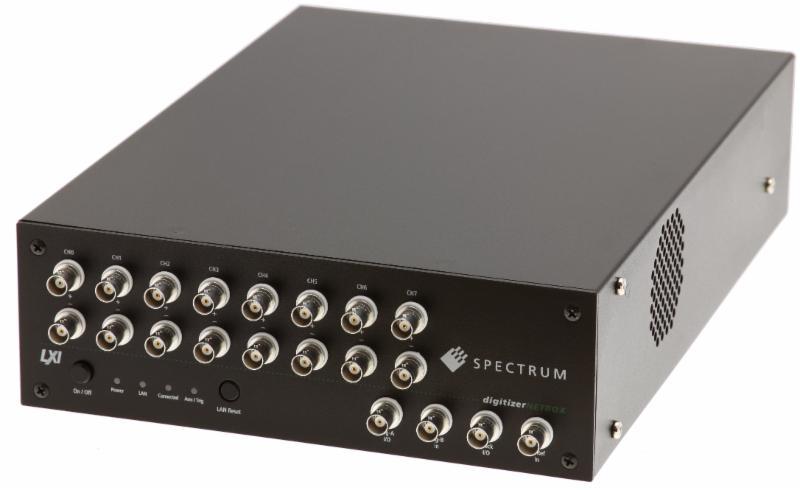 Spectrum digitiserNETBOX