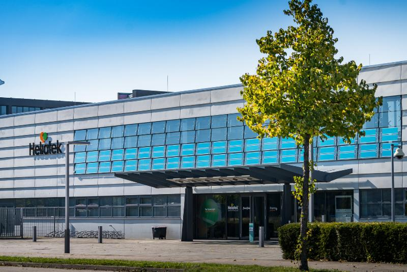 Heliatek HQ with active HeliaFilm® façade