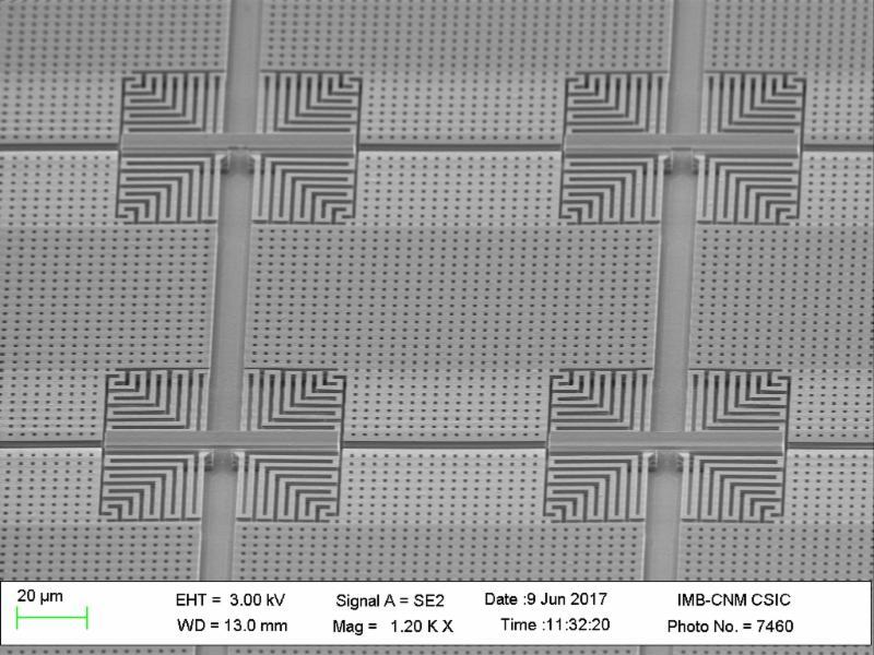 Nanusens motion sensors