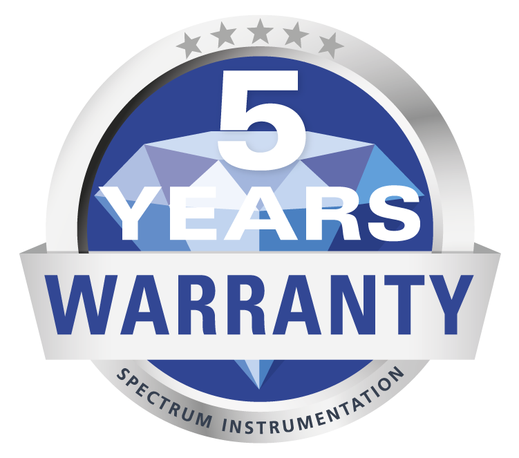 5 Year Warranty Spectrum