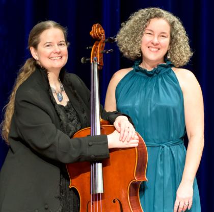 Tess Remy-Schumacher and Paula Malone