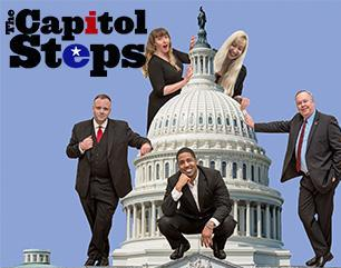 US Capitol dome crawling with actors