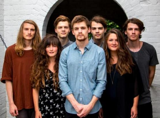 Seven young people