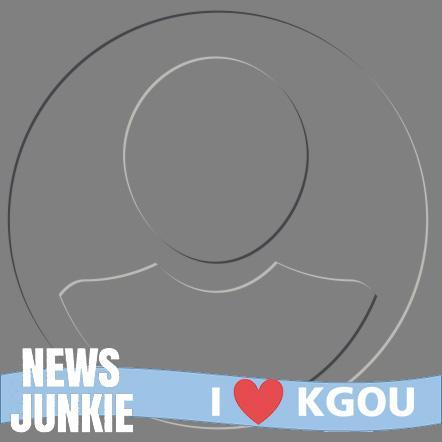 I heart KGOU frame
