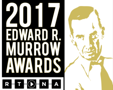 Murrow award logo