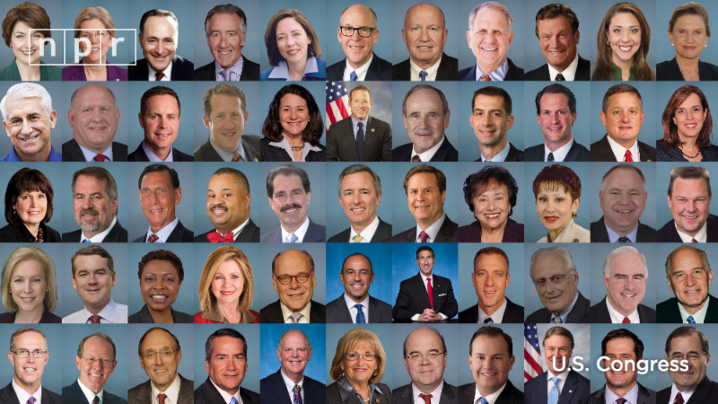official portraits of Congress