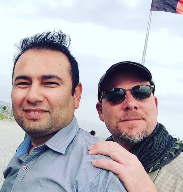 Zabihullah Tamanna and David Gilkey