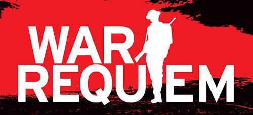 War Requiem with soldier silhouette