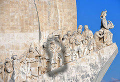 The Monument of Discoveries in Lisbon