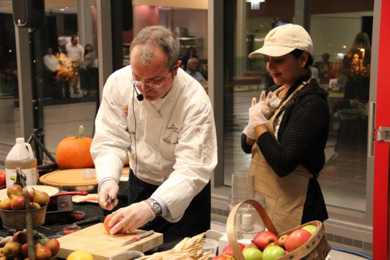 Chef's demonstration