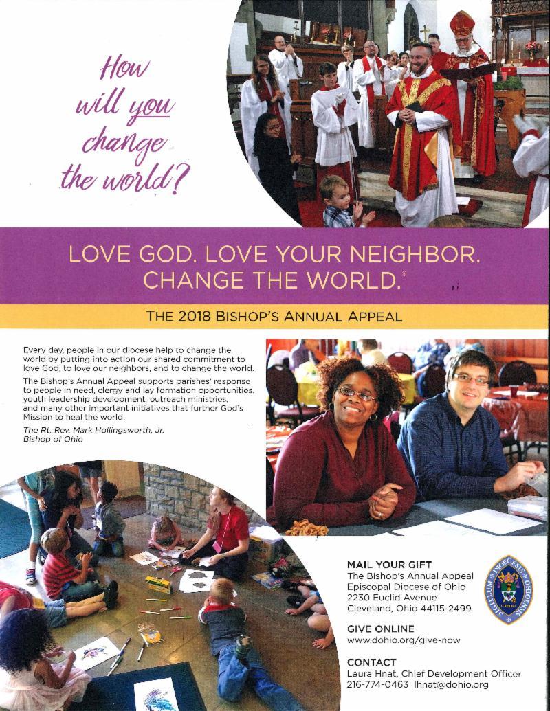 Bishop Annual Appeal