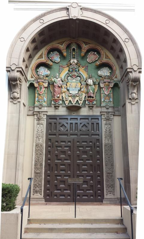 Original Anacapa Entrance Doors
