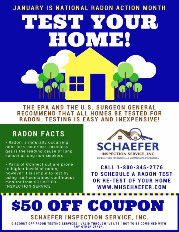 Schaefer January Radon Promo