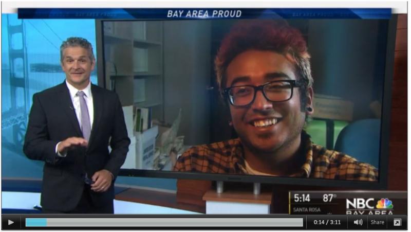 Watch Uriel on Bay Area Proud