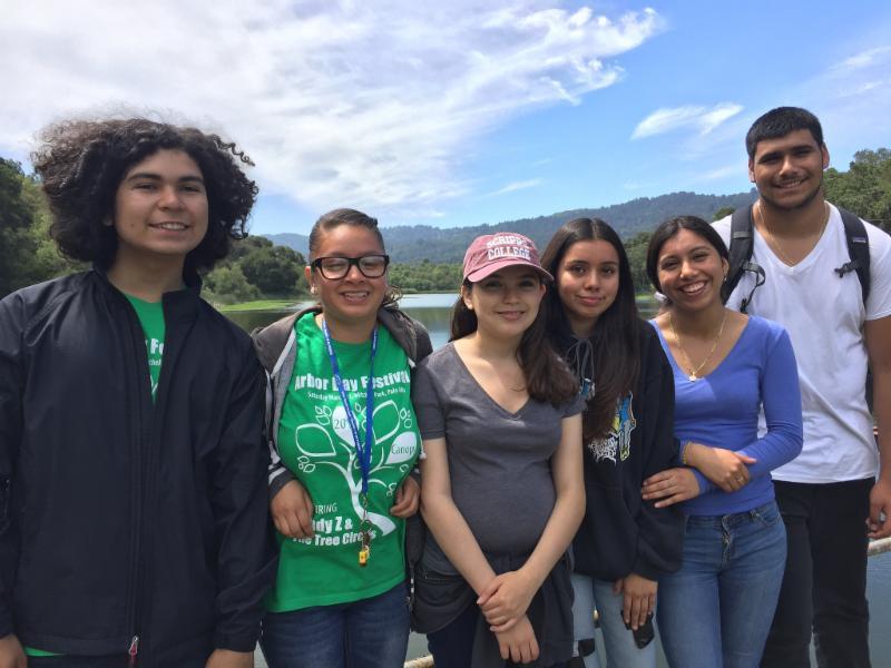 TUFs explore Jasper Ridge