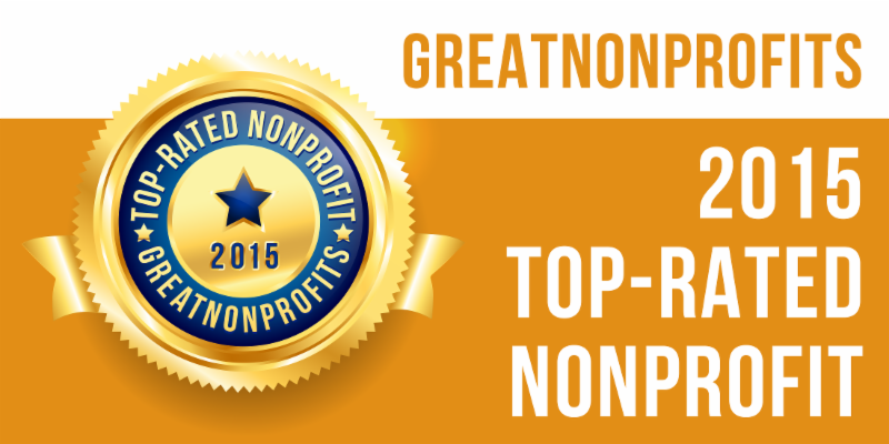 Canopy was a 2015 Top-Rated Nonprofit