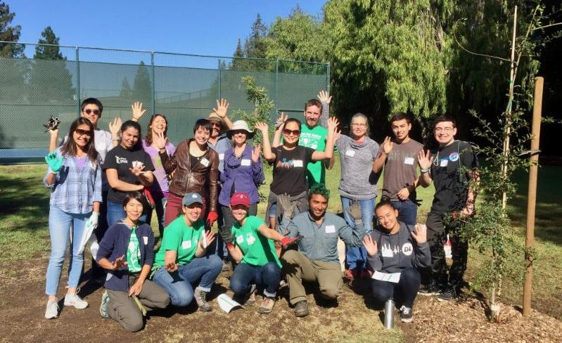 Canopy Planting Leaders at a training