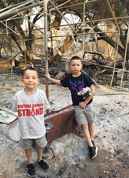 United Way of Ventura County — A Personal Message from One Family Recovering from The Thomas Fire