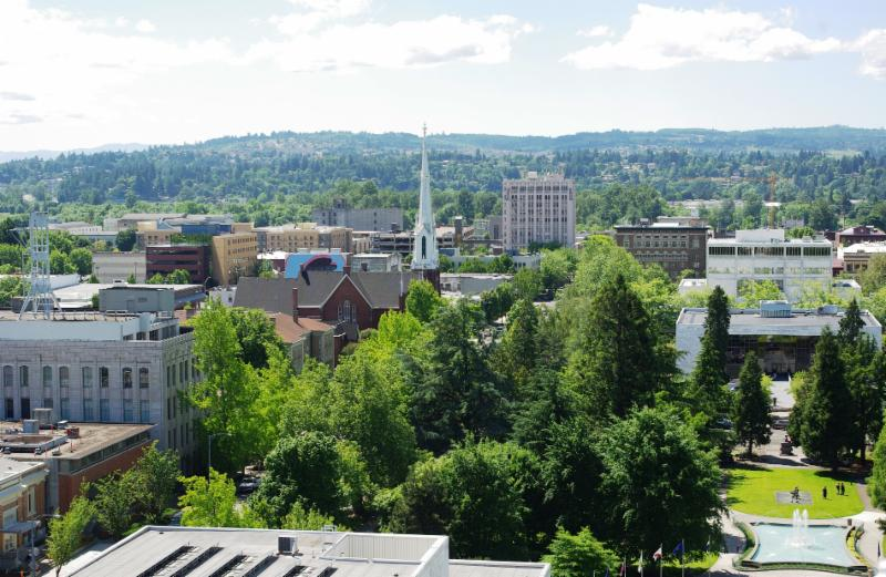 Downtown Salem_ Oregon
