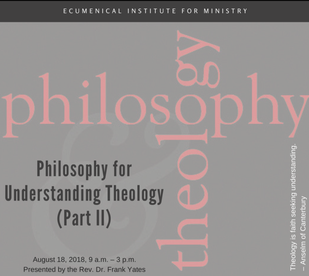 EIM philosophy seminar 2018