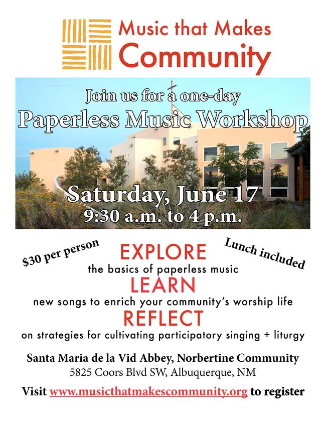 Flyer Music workshop